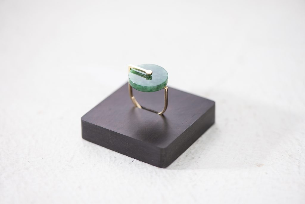 3. Swirl Jade Ring by Playback Concept Limited