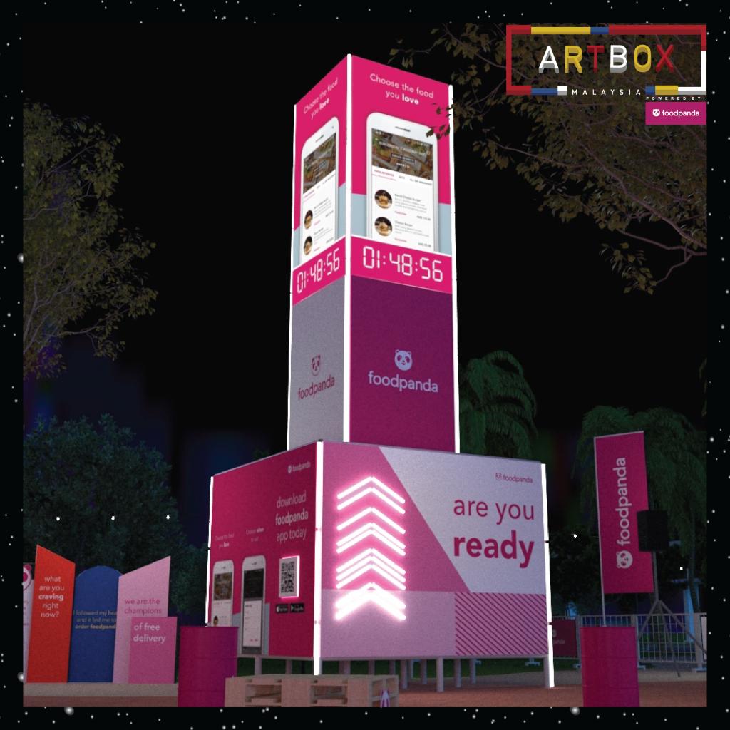 Artbox MY_foodpanda food tower