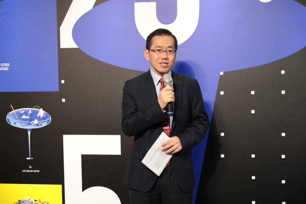 Golden Pin Design Award 2019 Winners Exhibition_06_Chih-Ching Yang (Deputy Director General of Industrial Development Bureau, MOEA)
