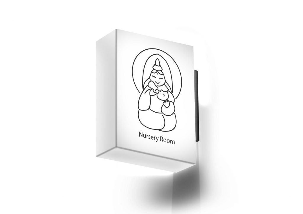 Design of Buddhism Universal Identification Mark (Image provided by Meng...
