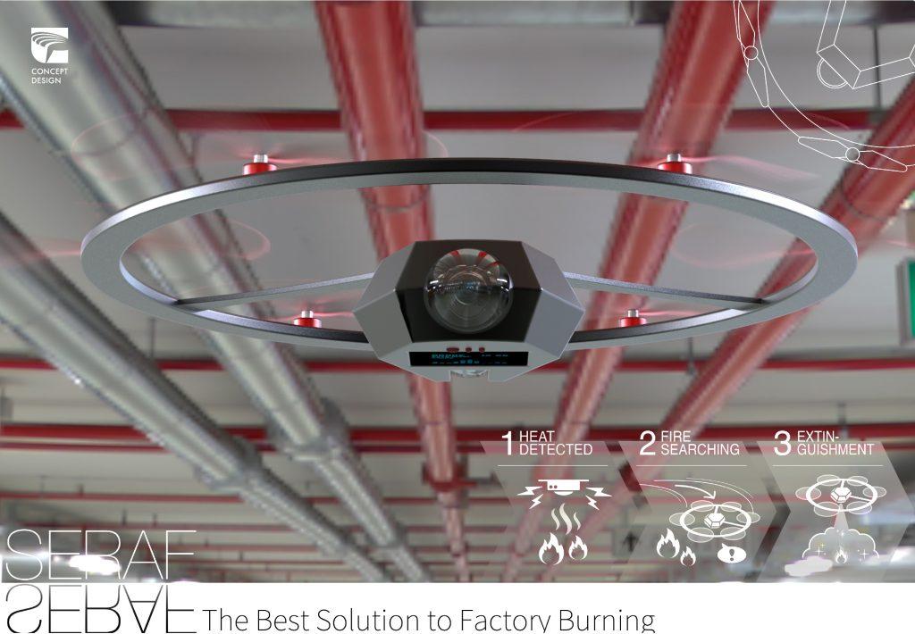 SERAF—Intelligent UAV Fire Extinguishing System